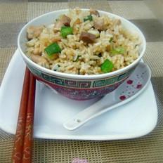 咸鱼鸡粒炒饭