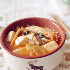 韩式泡菜豆腐汤