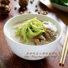 豆浆翡翠面