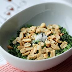 花生米拌香菜
