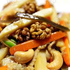 姜油冬笋炒腰果
