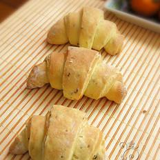 橄榄油酥皮可颂