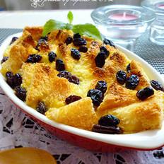 黑葡萄干面包布丁