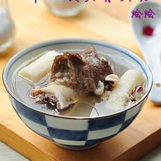 淮山茨实骨头汤