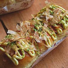 章鱼小丸子面包