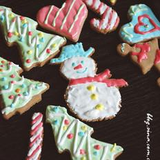 超简单圣诞姜饼