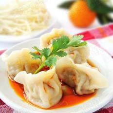 金针菇大肉水饺