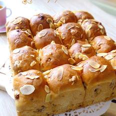 核桃紫薯葡萄干面包
