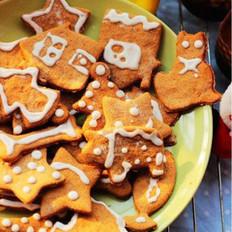 圣诞节姜饼干