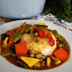 蔬菜咖喱锅