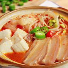 辣白菜五花肉煲