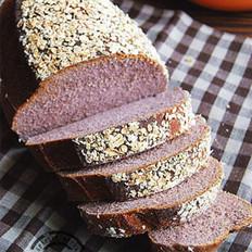 黑米粉酸奶面包