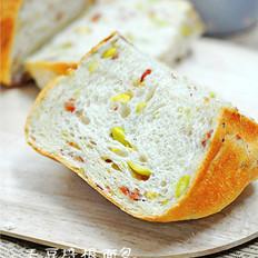 毛豆培根面包