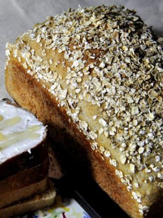 燕麦鲜奶面包的做法