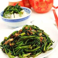 豆豉蒜蓉空心菜