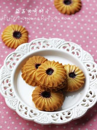 蓝莓曲奇饼干的做法