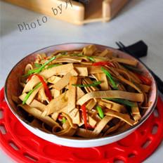 香辣豆腐皮