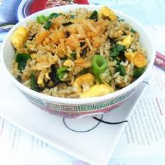 瑶柱橄榄菜炒饭