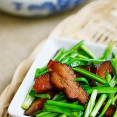 蒜苗炒臘肉