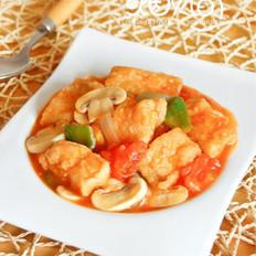茄汁蘑菇鱼块