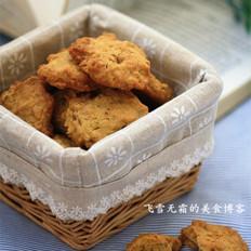 燕麦核桃饼干