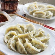 青菜鲜肉水饺