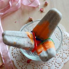 火龙果酸奶冰棍