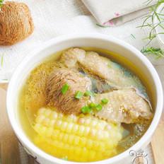 玉米猴头菇鸡汤