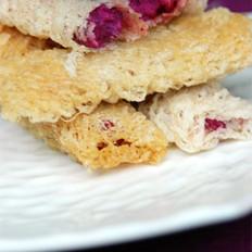 奶油紫薯卷