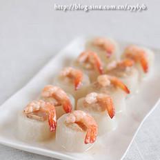 鲜虾萝卜酿