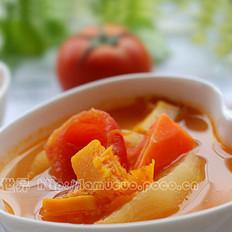 四宝蔬果汤的做法