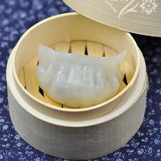 水晶茼蒿蒸饺