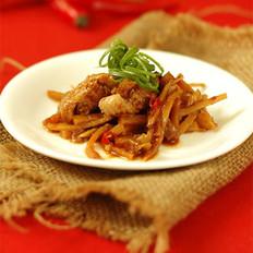 竹筍蒸雞翅