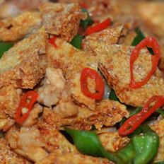 干锅脆皮豆腐