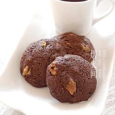 巧克力核桃脆饼的做法