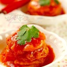 糖醋番茄夹