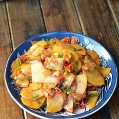 五花肉土豆片