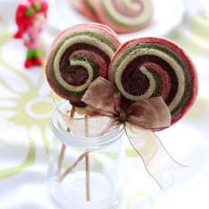 彩色棒棒糖饼干的做法