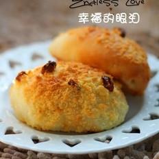 椰蓉葡萄干面包