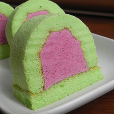 班兰桑葚慕斯蛋糕