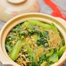 虾皮小白菜粉丝煲