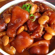 芸豆炖猪蹄