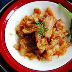 虾酱生煎五花肉