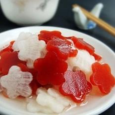 京糕萝卜花