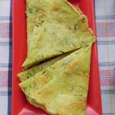 青瓜鸡蛋饼