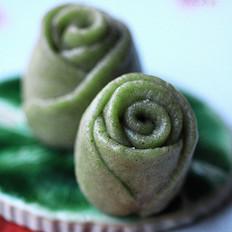 绿玫瑰小馒头