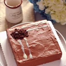 香浓巧克力牛奶慕斯