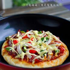 脆底香肠披萨