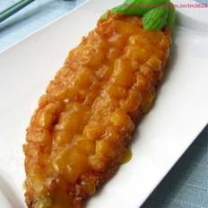 橙香玉米鱼