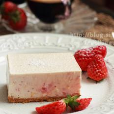 草莓冻乳酪蛋糕
